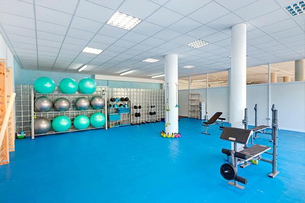 Imagen gimnasio centro terapeutico