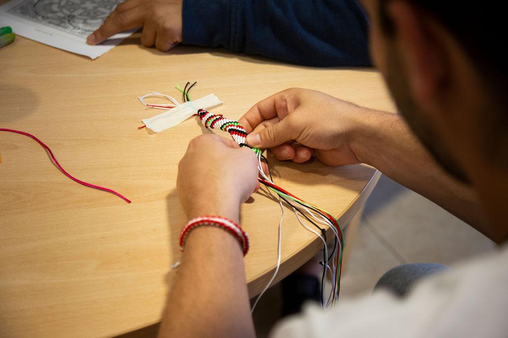 Sesiones creativas y talleres
