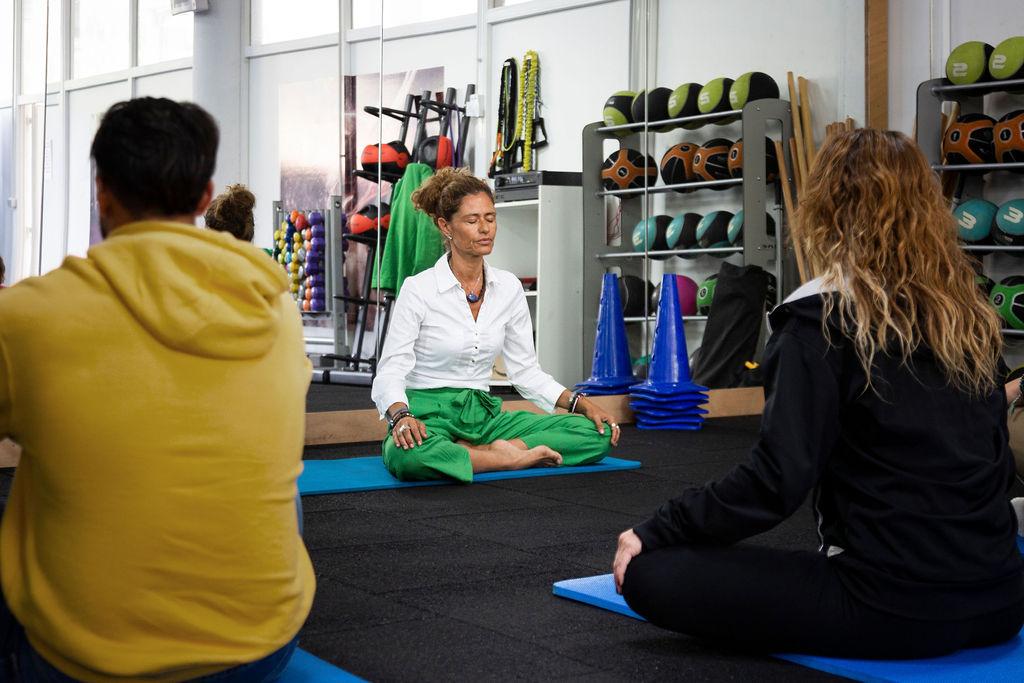 Sala de ejercicios, actividades y relajación