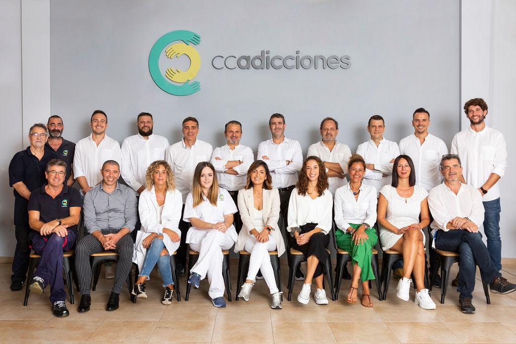 Imagen del equipo de CC Adicciones 2020