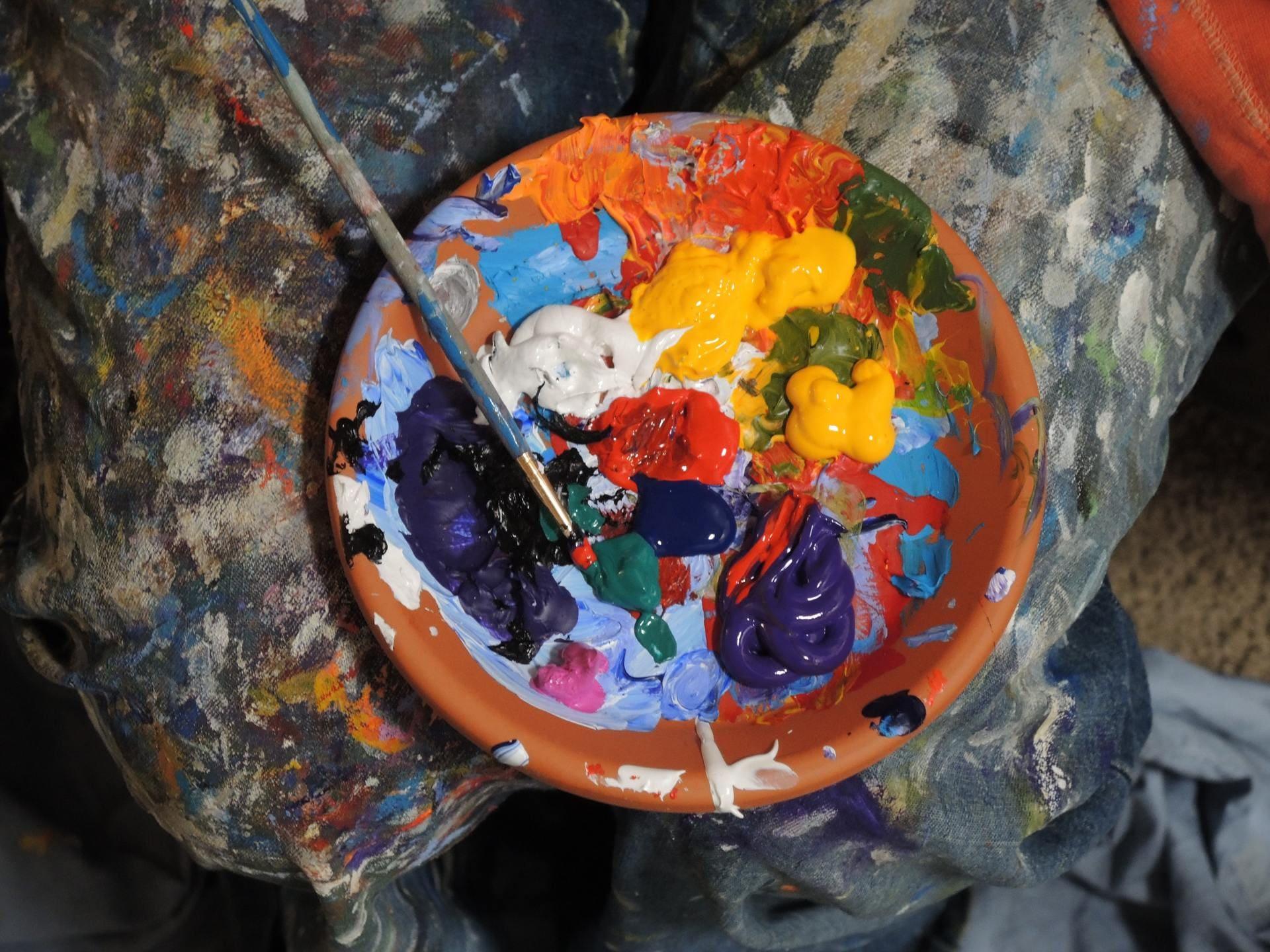 mezcla pinturas