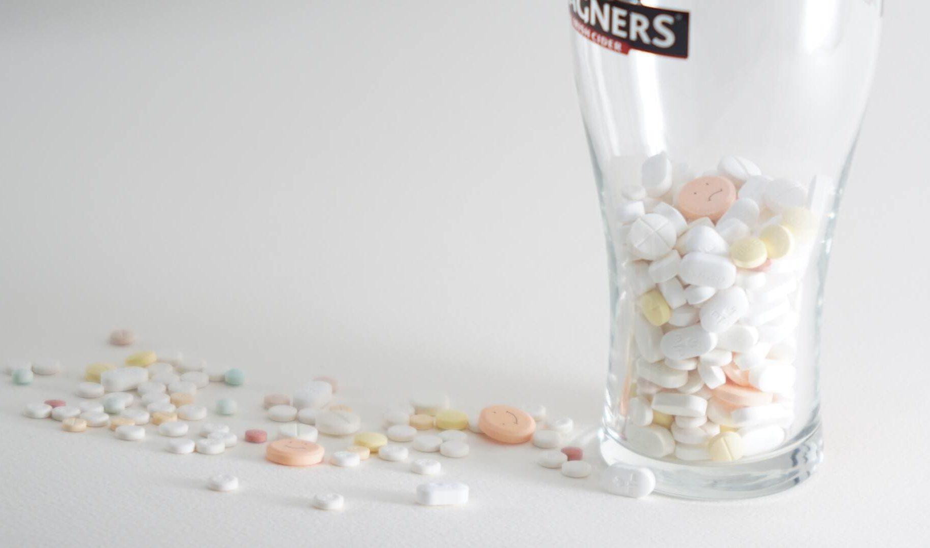 pastillas vaso